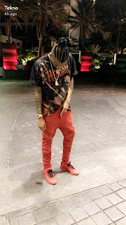 """Check Out Tekno's New Look """"Braided Hairstyle"""""""