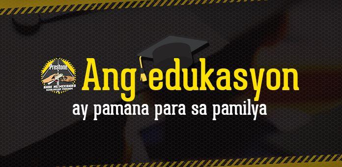 """""""Anak ng Mekaniko Scholarship Program"""" 2018"""