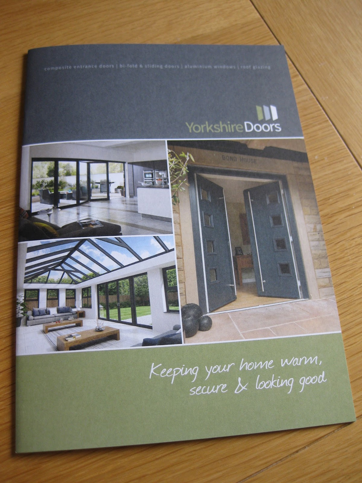 ... for Yorkshire Doors has been designed by Aldred Design. An updated brand identity has also been created and applied to all literature and promotional ... & Whatu0027s new?: Yorkshire Doors Brochure pezcame.com
