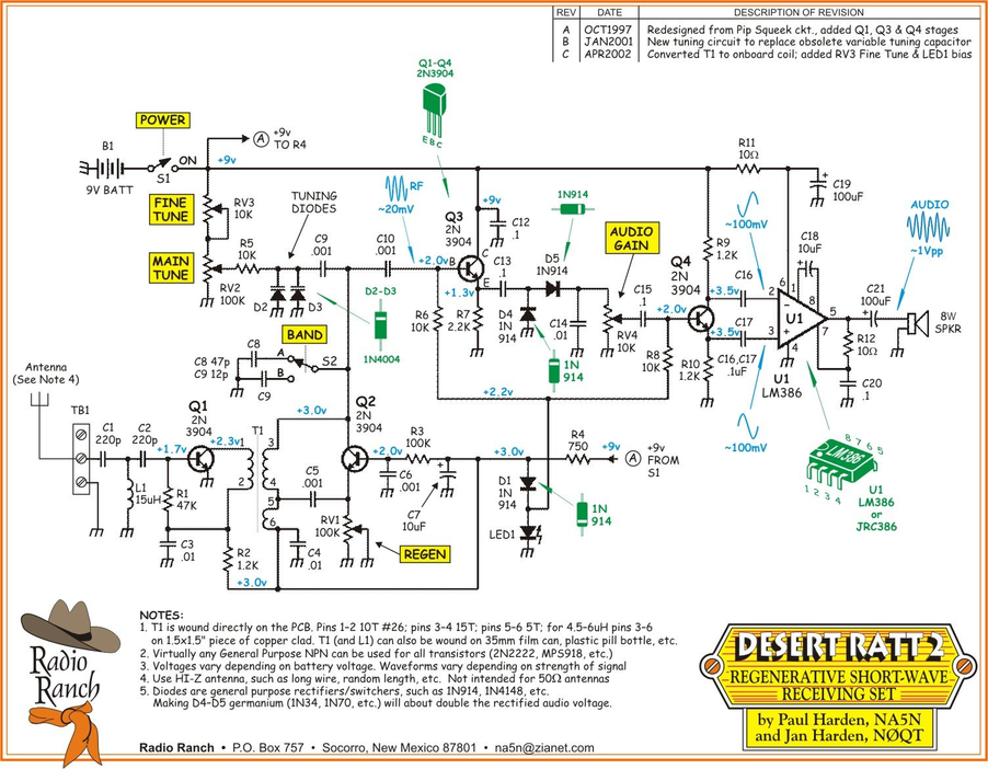 Output Transformer For Rf Pre as well REGENf 1 in addition Lowvoltagetubes further Desert Ratt 2 Drawings moreover Schematic Diagram. on homebrew regenerative receiver