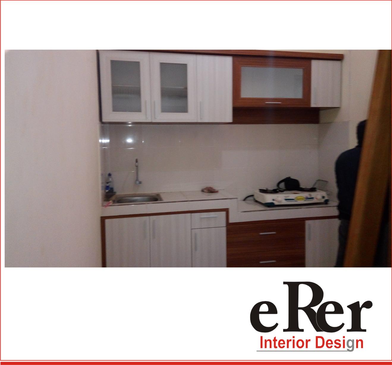Erer interior kitchen set solo kitchen set jogja for Harga pembuatan kitchen set per meter