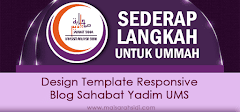 Design Template Blog Responsive Sahabat Yadim UMS