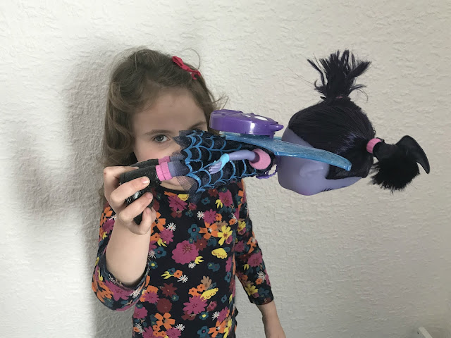 Vampirina doll flying