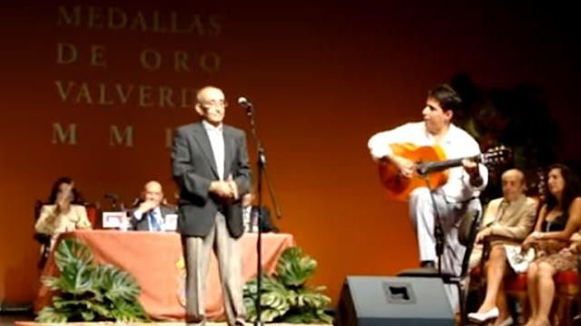 Urbano Lopez uno de los grandes intérpretes de este estilo cantando una letra que se escucha por todo el mundo flamenco