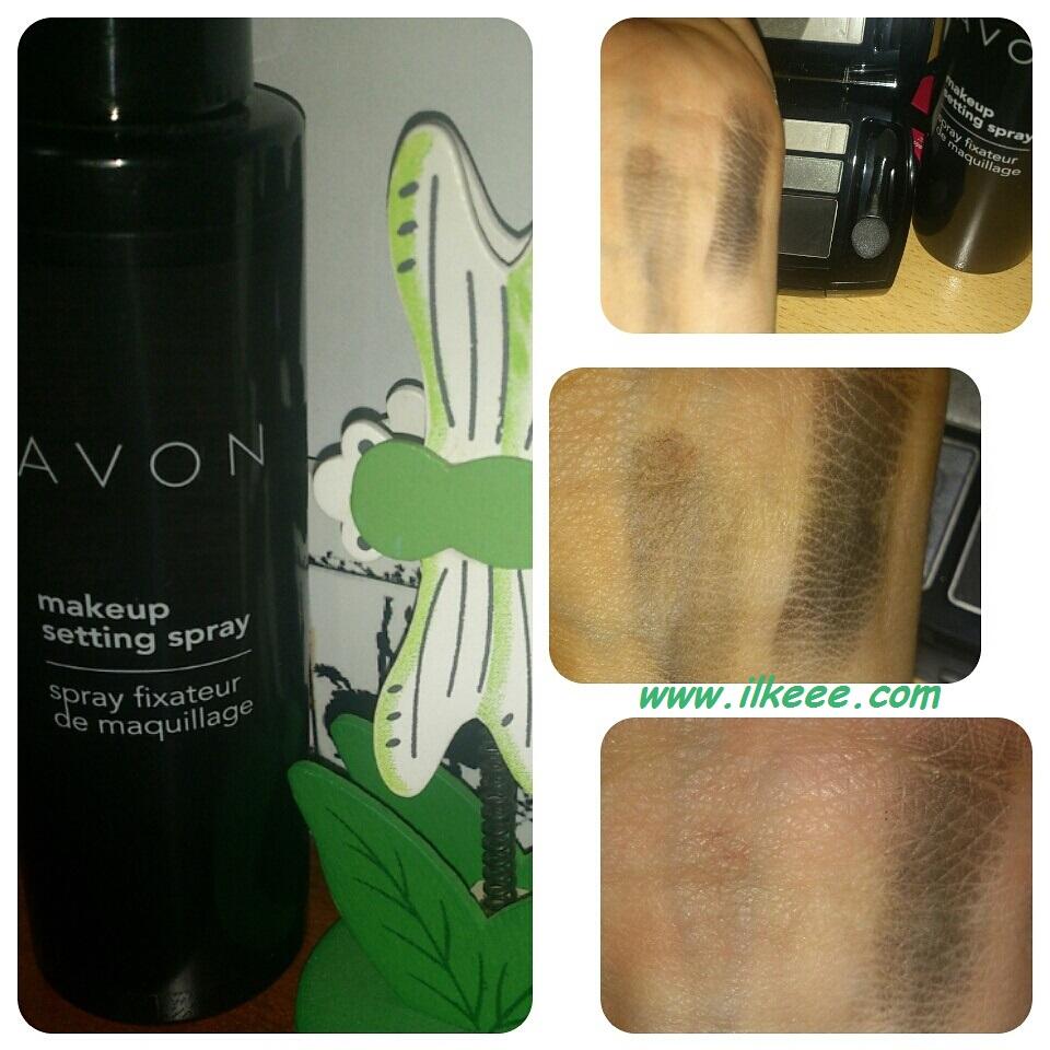 4 blogger 1 ürün - Avon - Avon makyaj sabitleyici sprey deneyenler - Makeup Setting Spray - Makeup Fix