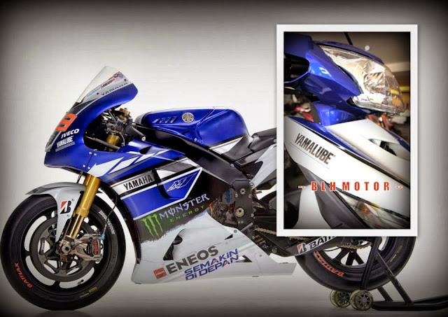 Yamaha 135LC - Versi Limited Grafik MotoGP 2013