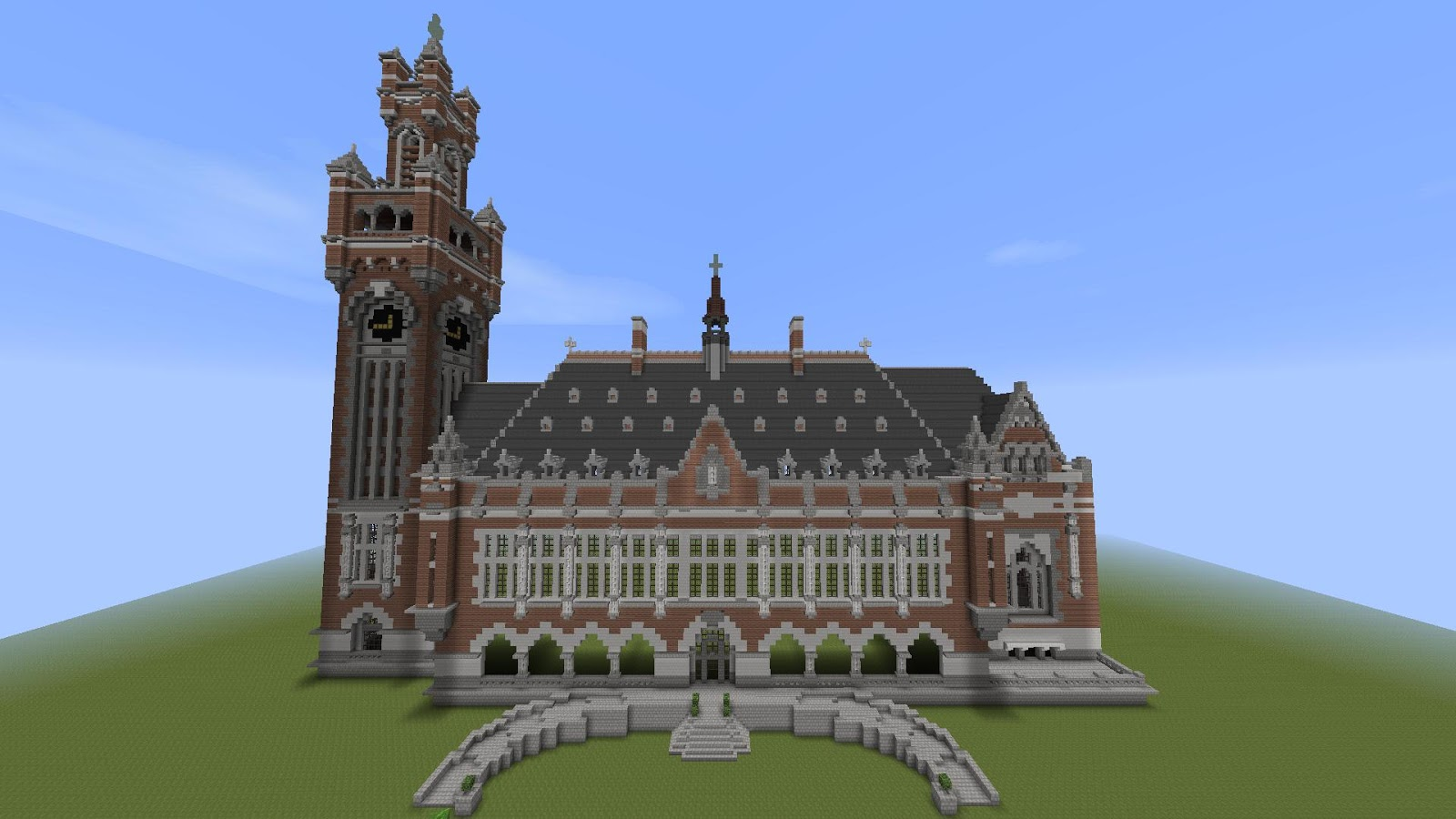 Minecraft Build Winter Palace Download