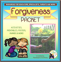 Forgiveness Character Education - Social Skills Teaching Packet