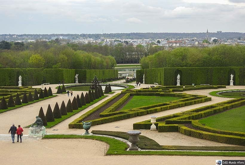Jardins de Versaille - Diário de Bordo - 3 dias em Paris