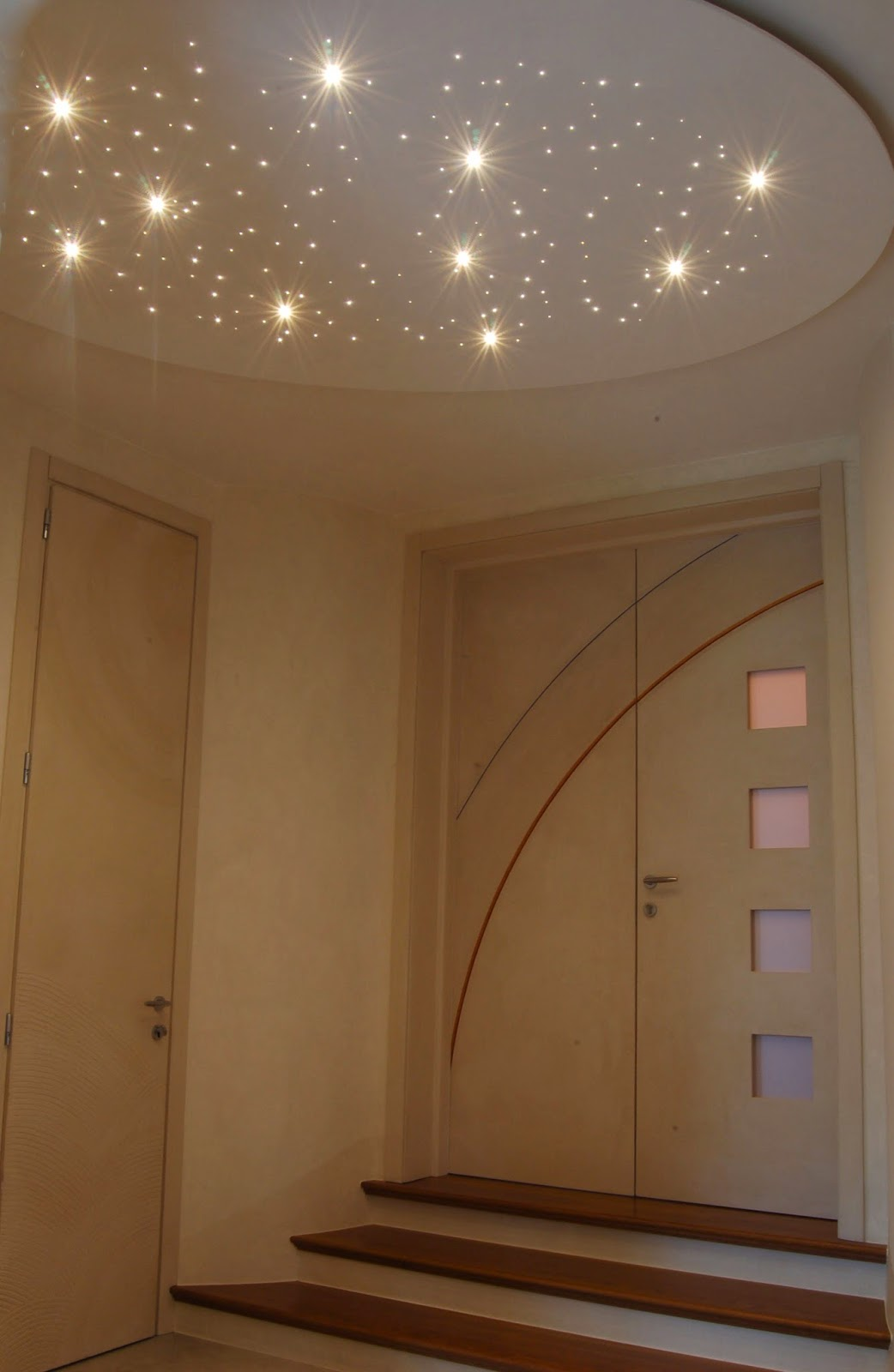 Illuminazione Led Casa Il plafone personalizzato