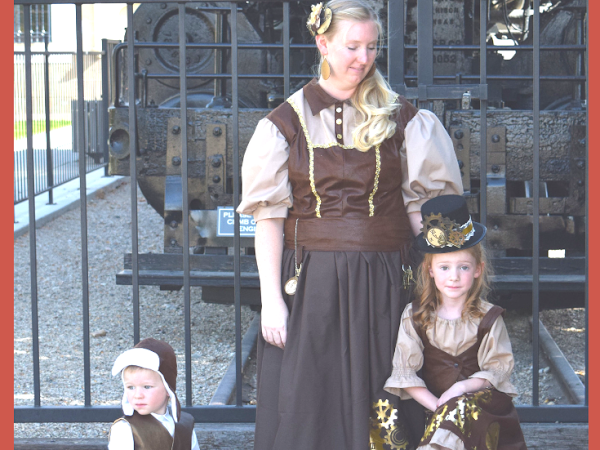 DIY Steampunk Costumes for the Family