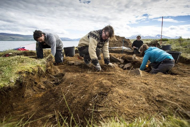 Second Viking Age ship burial found at archaeological site in N. Iceland