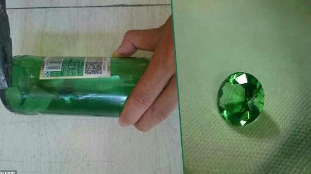Ubah Botol menjadi cincin
