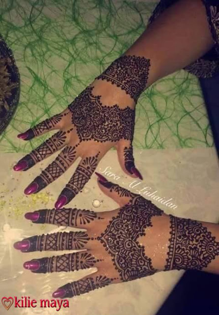 Latest Arabic Mehndi Designs For Hands 2016