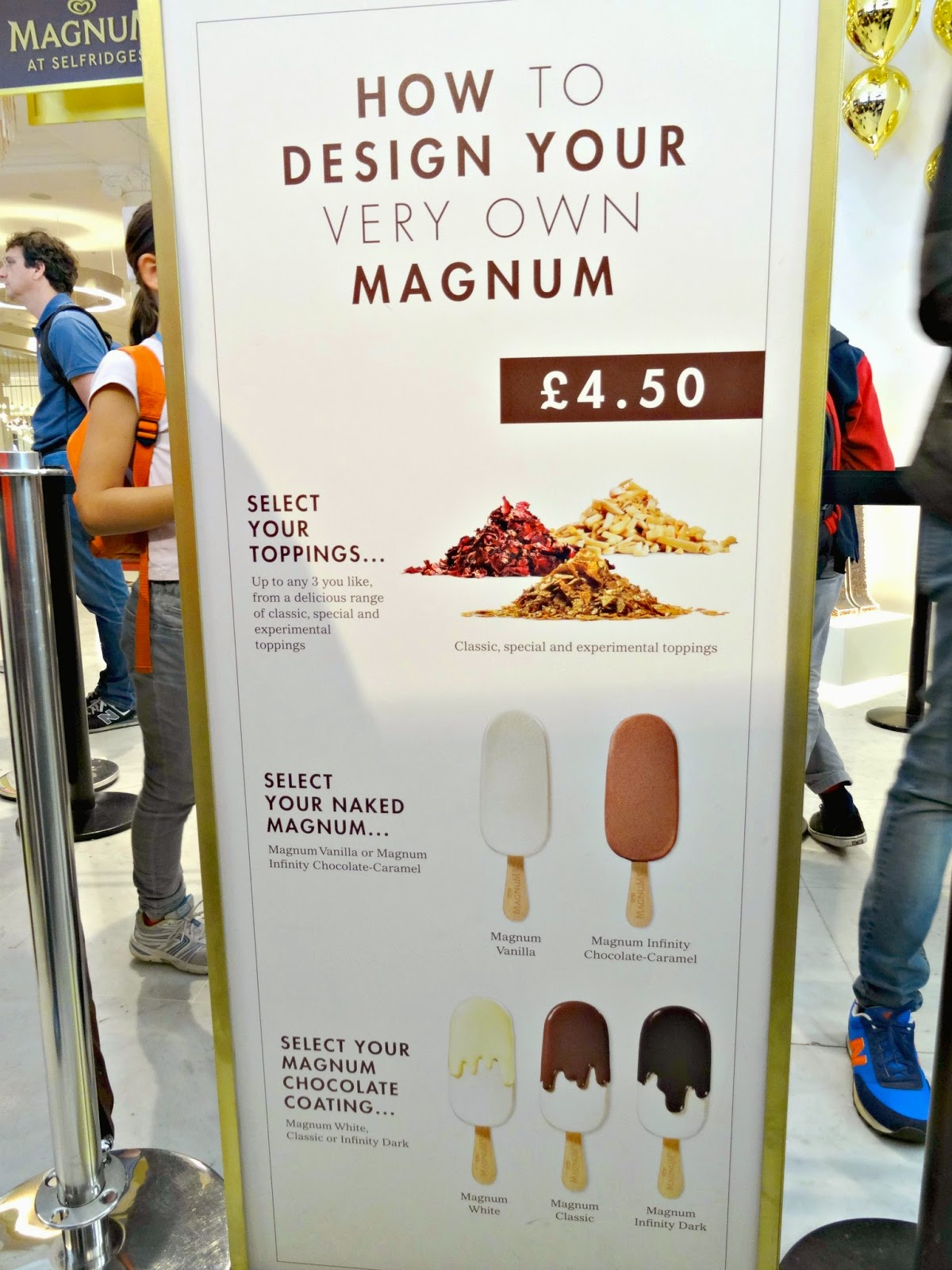How to design your own Magnum