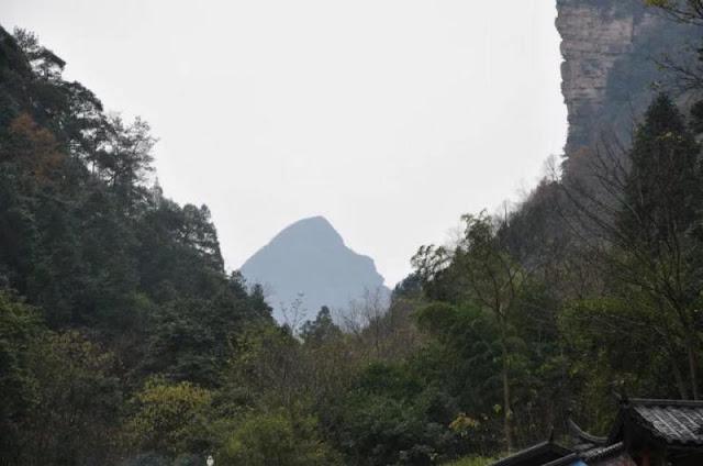 Tianmen Mountain, at Zhangjiajie City, in central China's Hunan
