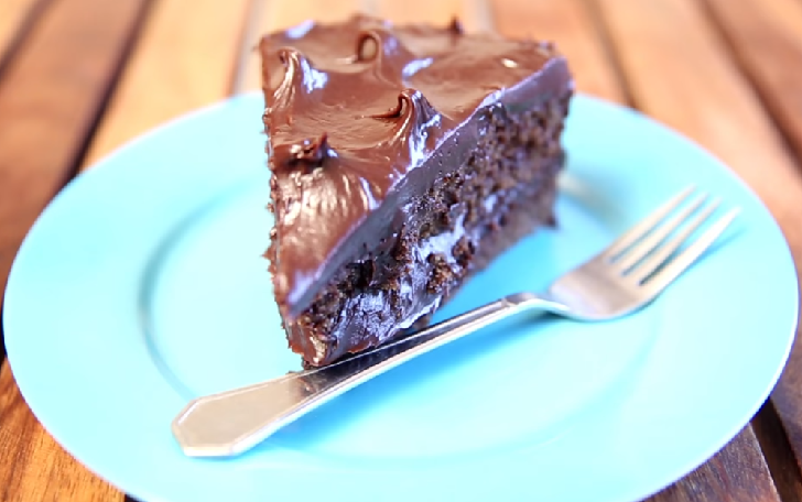 Easy Chocolate Cake With Chocolate Icing