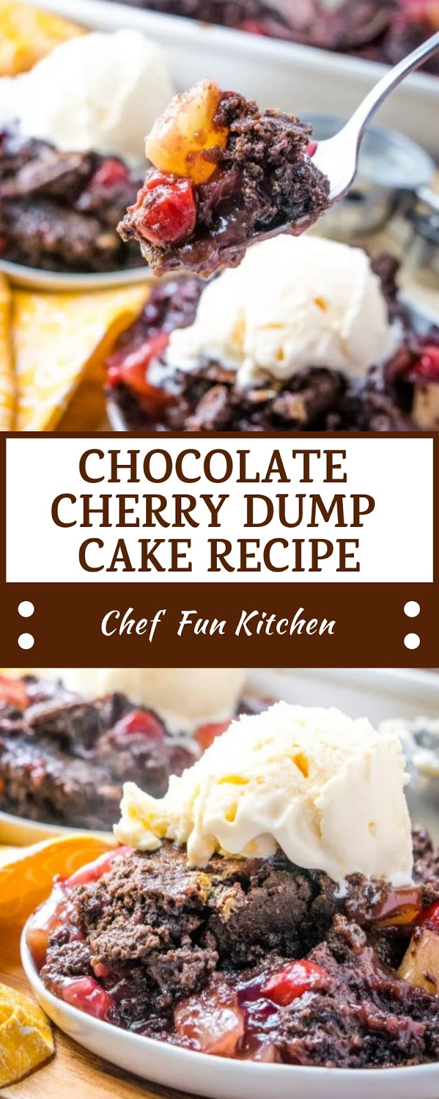 CHOCOLATE CHERRY DUMP CAKE RECIPE