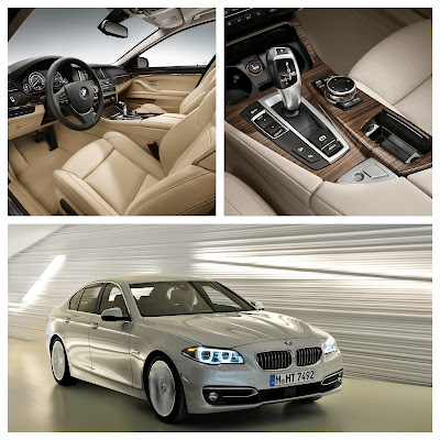 BMW 5-Series Receives Facelift
