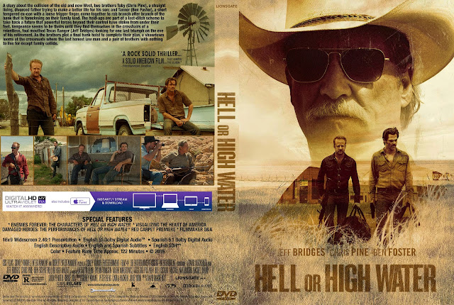 Hell Or High Water DVD Cover