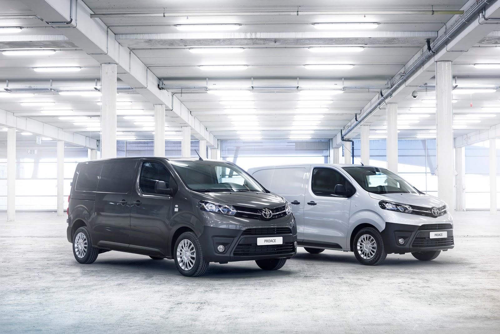 Toyota Proace 2016 sẽ hỗ trợ chở khách, chở hàng cực kỳ hiệu quả