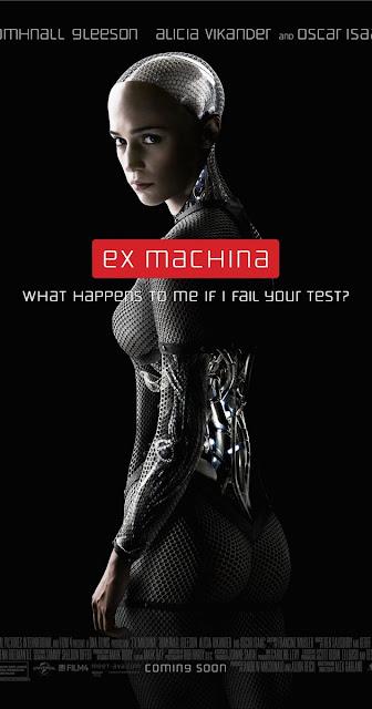 Alicia Vikander e un android care pacaleste oamenii