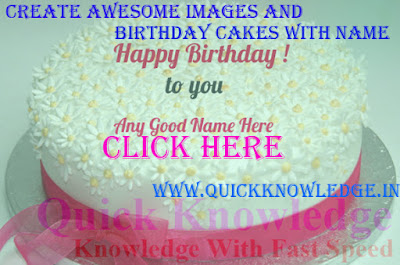 Create Awesome Images and Birthday Cakes With Name
