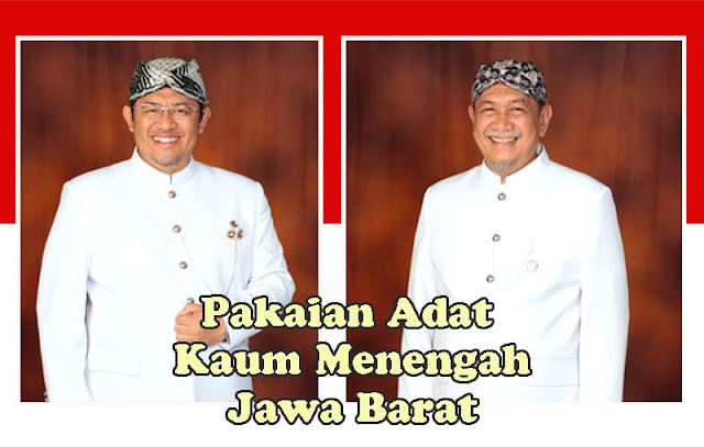 Gambar Pakaian Adat Kaum Menengah Jawa Barat