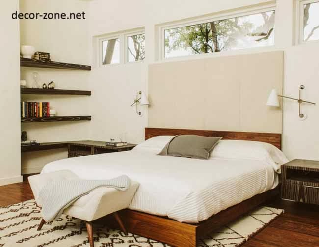 modern bedroom shelves bedroom shelving ideas 20 bedroom shelves designs 12511