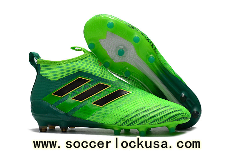 competitive price d60de 335ff These new Adidas Ace 17+ PureControl boots are designed to make a fresh  statement on the pitch. Combining two different shades of green with black  for the ...