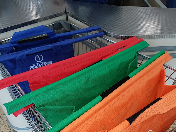 Shopping Made Easier With Trolley Bags #giveaway