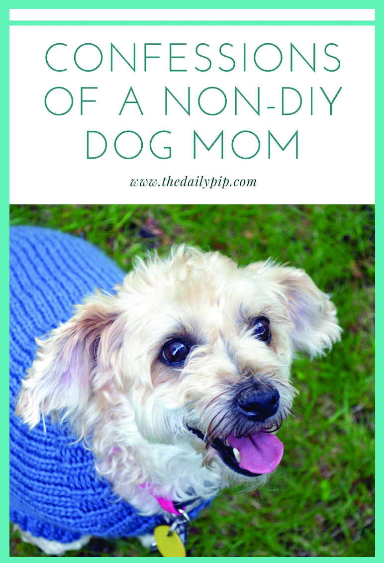 Confessions of a Non-DIY Dog Mom