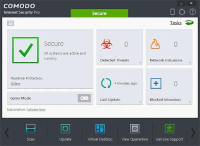 تحميل برنامج كومودو للحماية Comodo Firewall مجانا