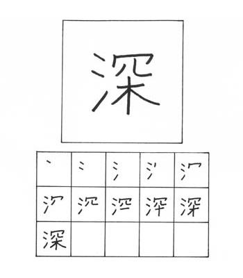 kanji dalam