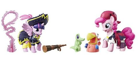 Twilight and Pinkie Pie Pirate My Little Pony Movie Guardians of Harmony