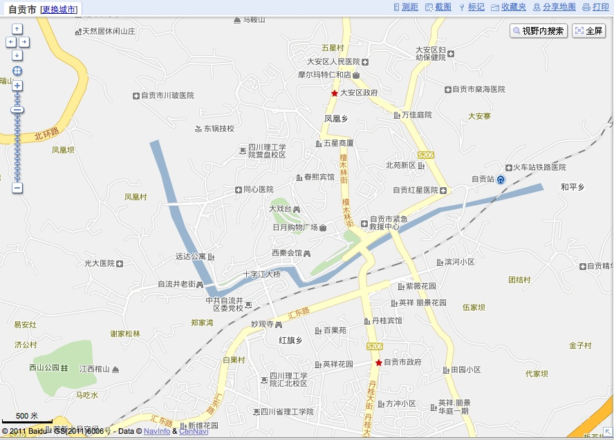 Google Maps and Baidu Map in China - Isidor\'s Fugue