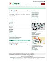 Bildschirmabbild Diabetes-Lexikon V-Z
