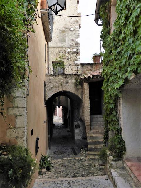 Mónaco, calles del barrio antiguo
