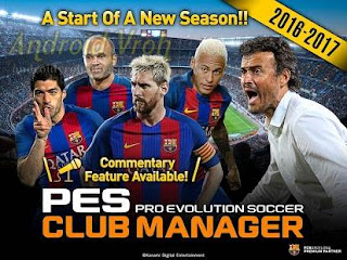 Download PES Club Manager v1.4.1 Apk + Data Full Version