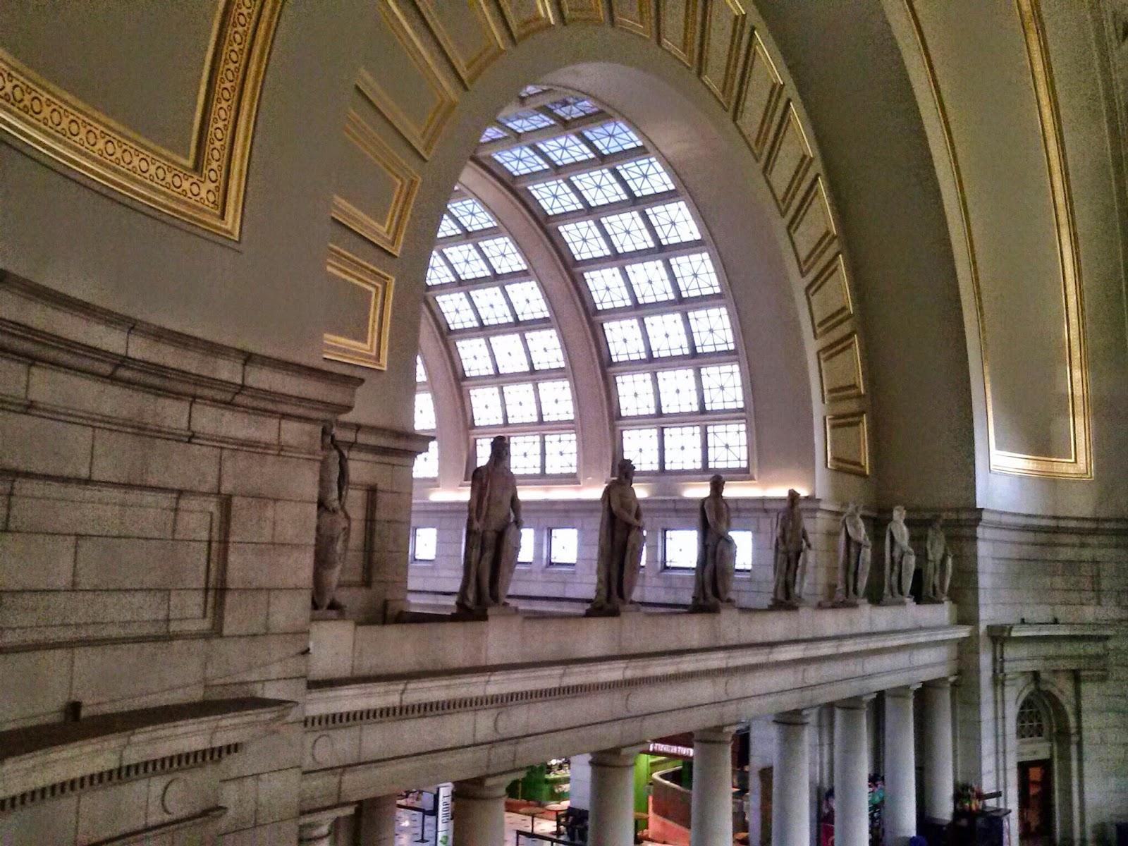 Art According To Cary Union Station Washington D C