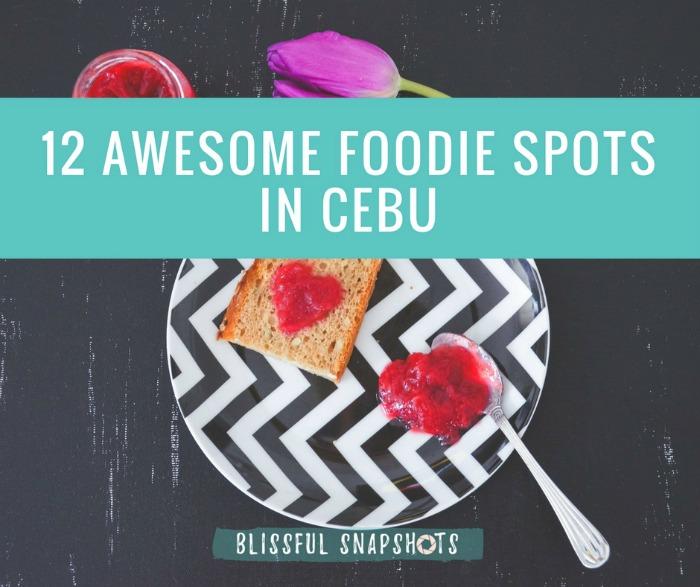 Foodie Spots in Cebu