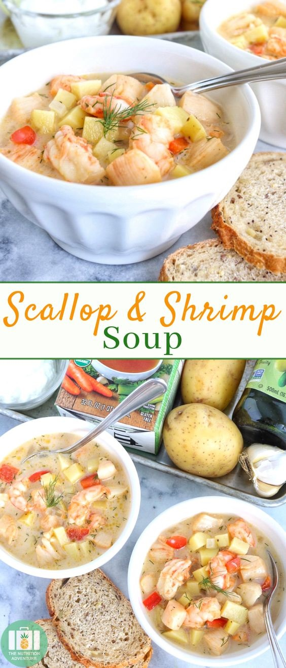 Scallop & Shrimp Soup