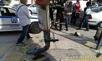 «Το θύμα είχε εγκλωβιστεί ανάμεσα στο αυτοκίνητο και την κολόνα» (βίντεο)