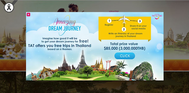 Get a Chance to win an Amazing Dream Journey to Thailand