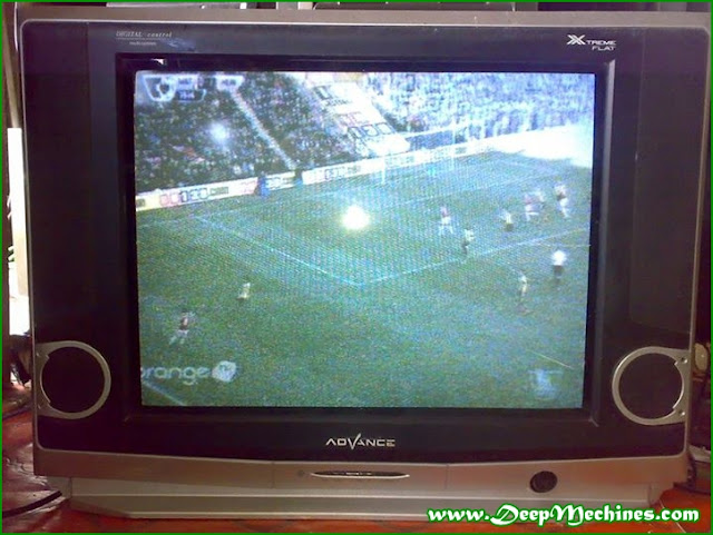 Gambar TV Advance 21-Inch