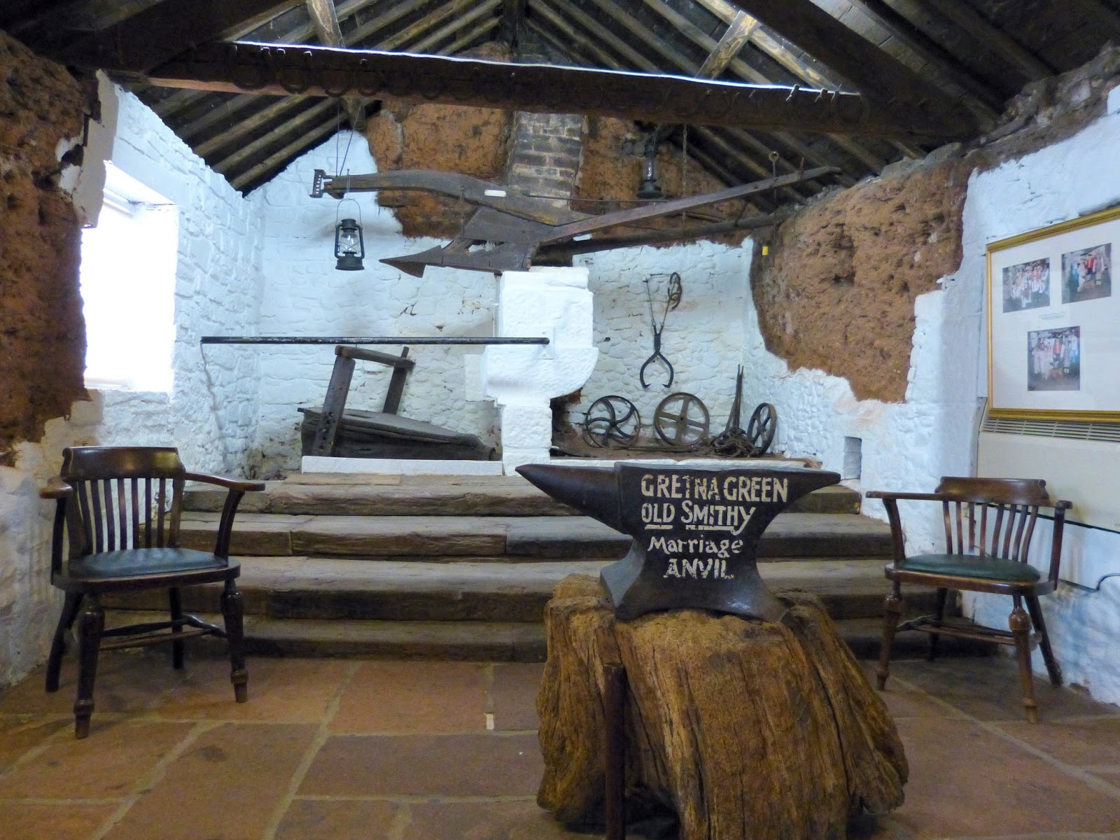 The Main Marriage Room In Blacksmith S Gretna Green