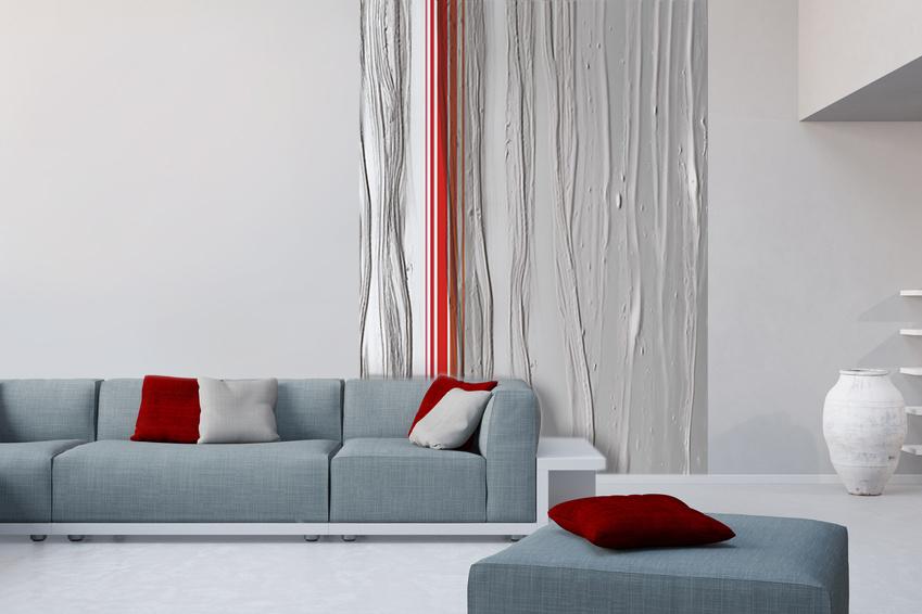 papier peint chambre bleu gris. Black Bedroom Furniture Sets. Home Design Ideas