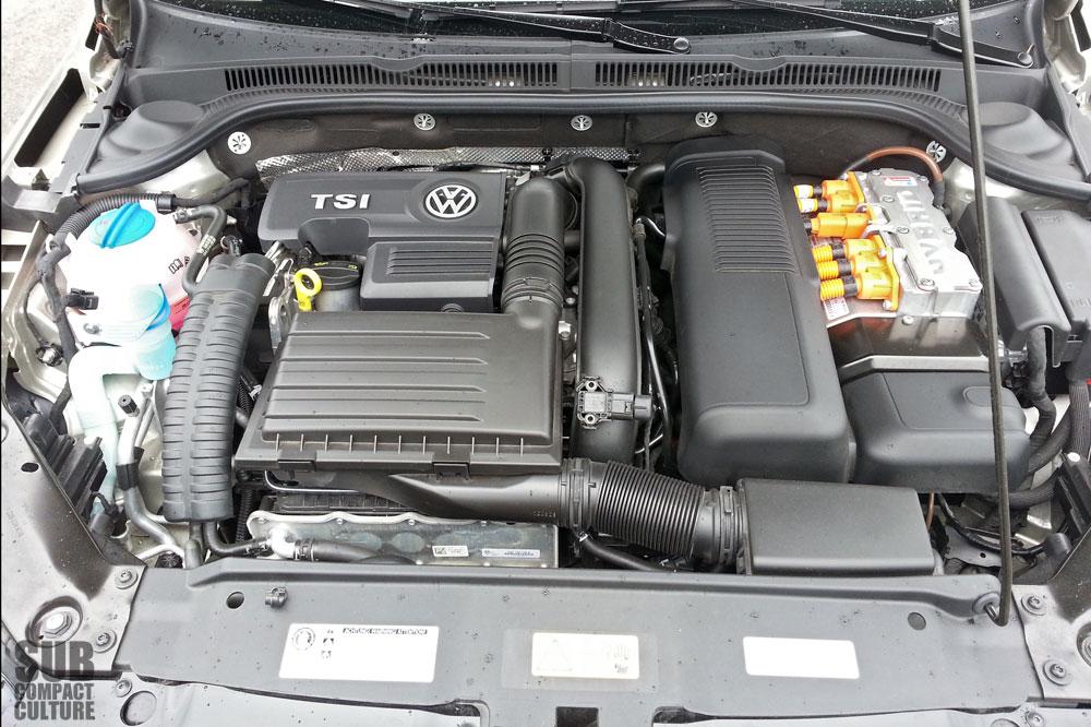 The 1 4 Liter Turbocharged Tsi Engine