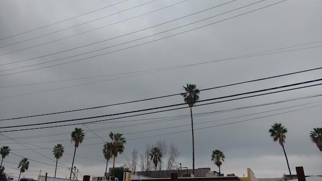 Overcast, but no rain.