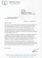 lettre de refus simplifiée
